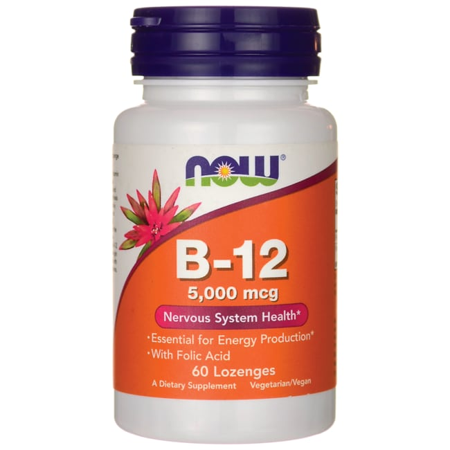 Food with vitamin b12 and folic acid