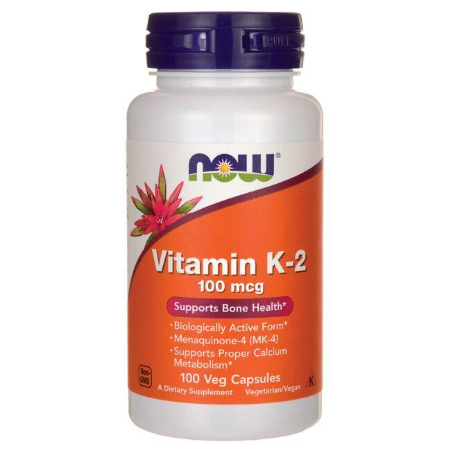 NOW FoodsVitamin K-2