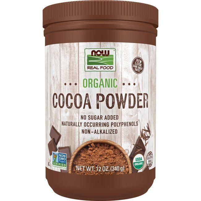 NOW FoodsOrganic Cocoa Powder