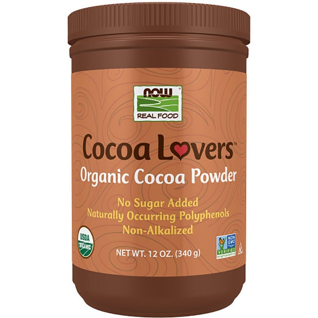 NOW FoodsOrganic Cocoa Powder