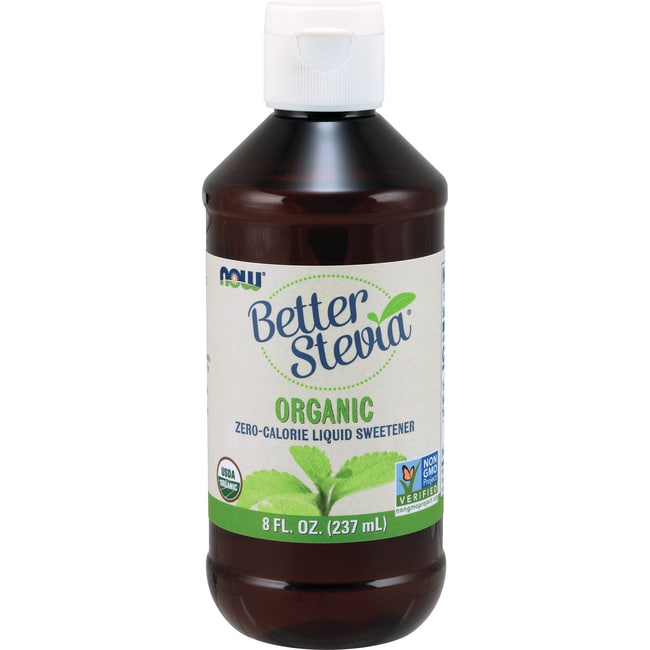 NOW Foods Better Stevia Certified Organic Liquid Extract