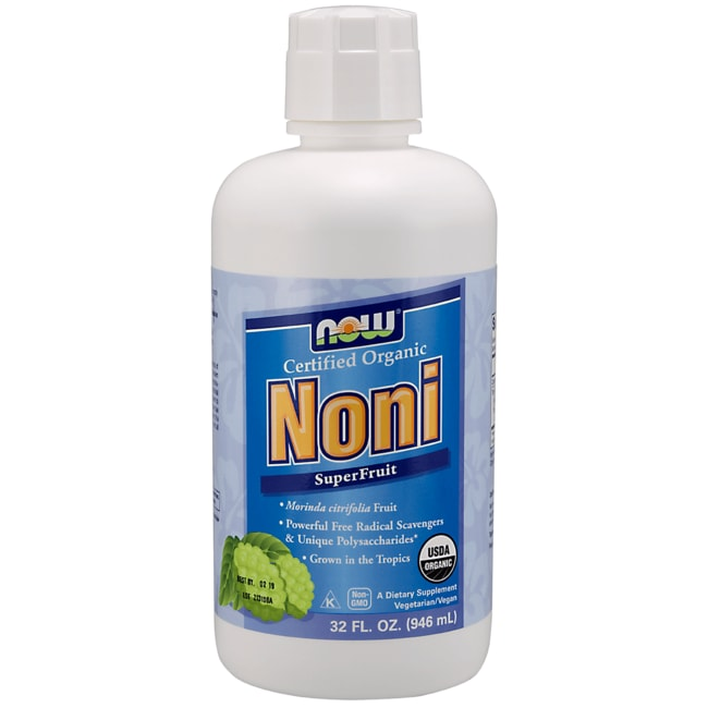 NOW FoodsCertified Organic Noni SuperFruit Juice