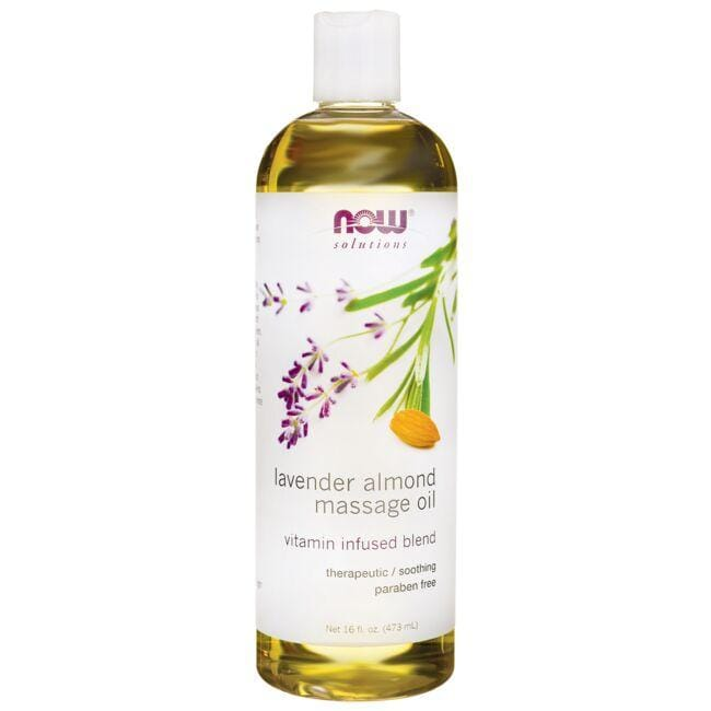 NOW FoodsMassage Oil Lavender Almond