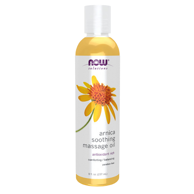 NOW FoodsArnica Warming Relief Massage Oil