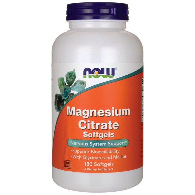 NOW FoodsMagnesium Citrate Softgels