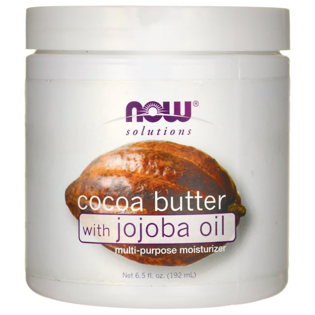 NOW FoodsCocoa Butter with Jojoba Oil
