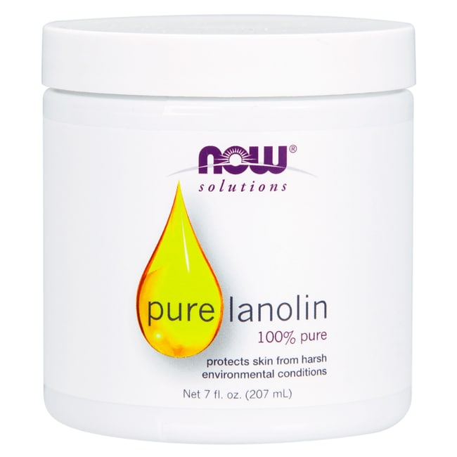 NOW Foods Pure Lanolin 7 fl oz Cream - Swanson Health Products