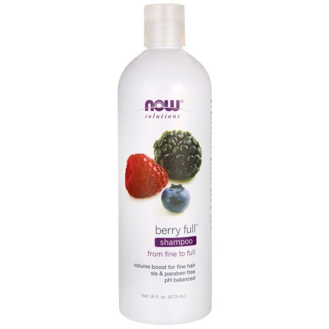 NOW FoodsNatural Berry Full Volumizing Shampoo