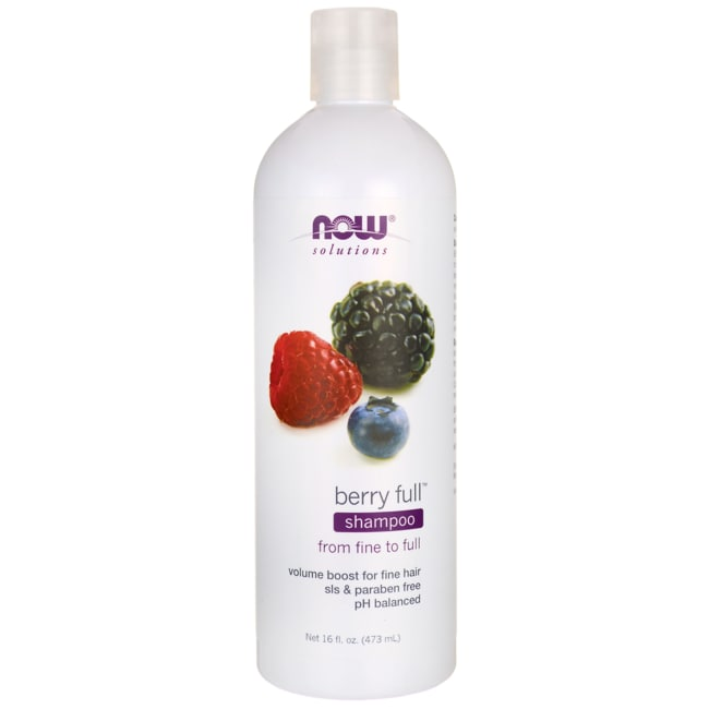 NOW Foods Natural Berry Full Volumizing Shampoo