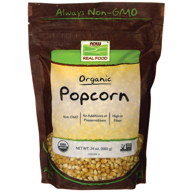NOW Foods Popcorn Certified Organic