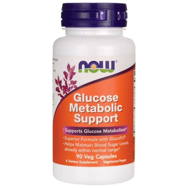 NOW FoodsGlucose Metabolic Support