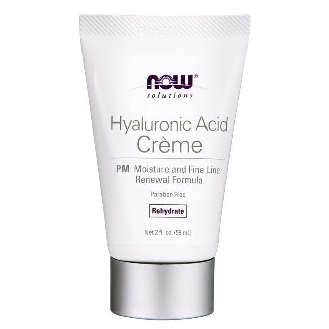NOW FoodsHyaluronic Acid Creme - PM Rehydrate