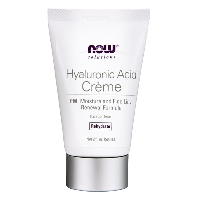 NOW Foods Hyaluronic Acid Creme PM Moisture Renew