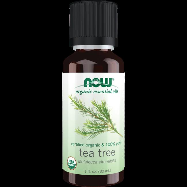 NOW Foods Tea Tree Oil Certified Organic