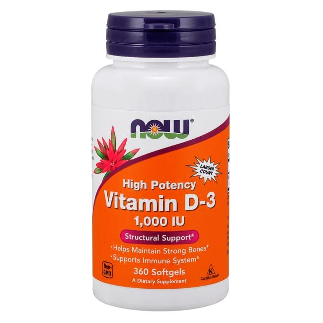 NOW Foods Vitamin D-3 High Potency