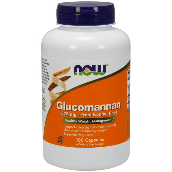 NOW FoodsGlucomannan