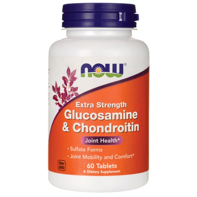 NOW FoodsExtra Strength Glucosamine & Chondroitin