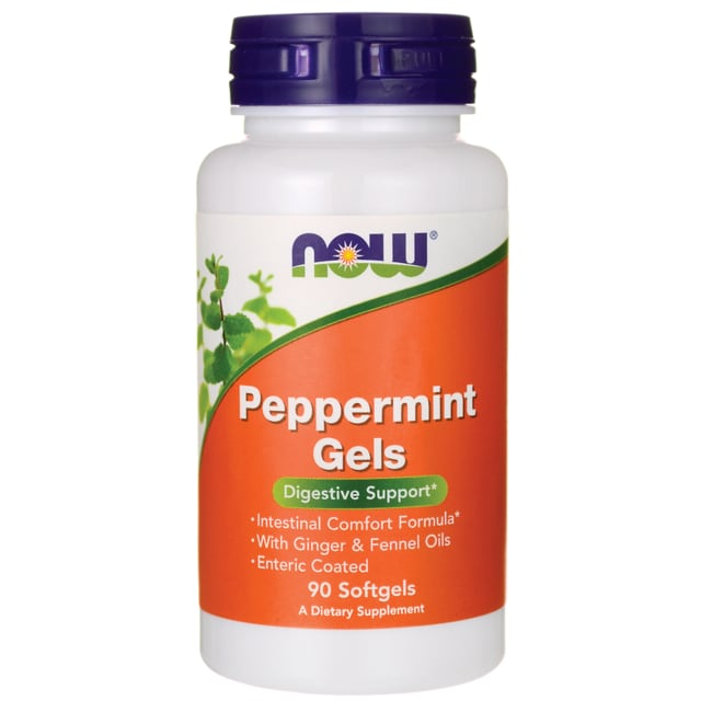 NOW FoodsPeppermint Gels