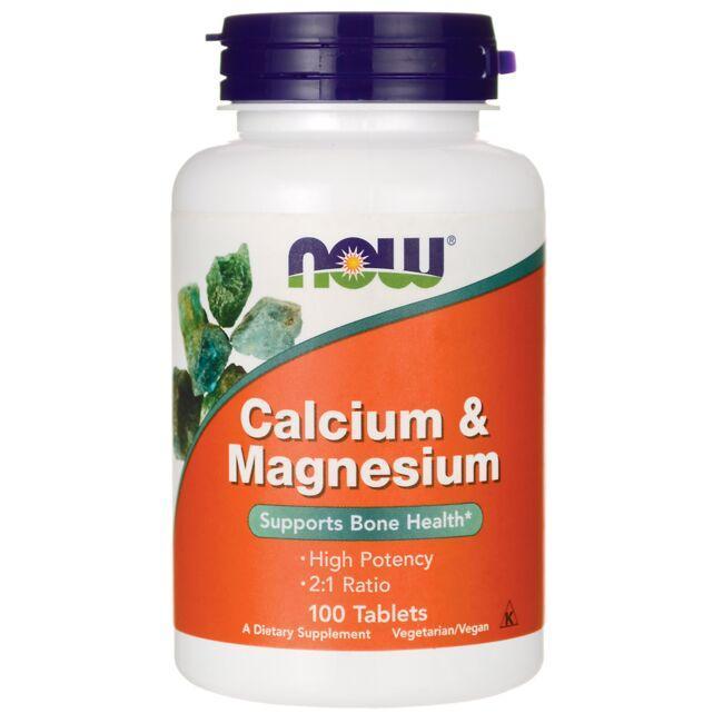 NOW FoodsCalcium & Magnesium