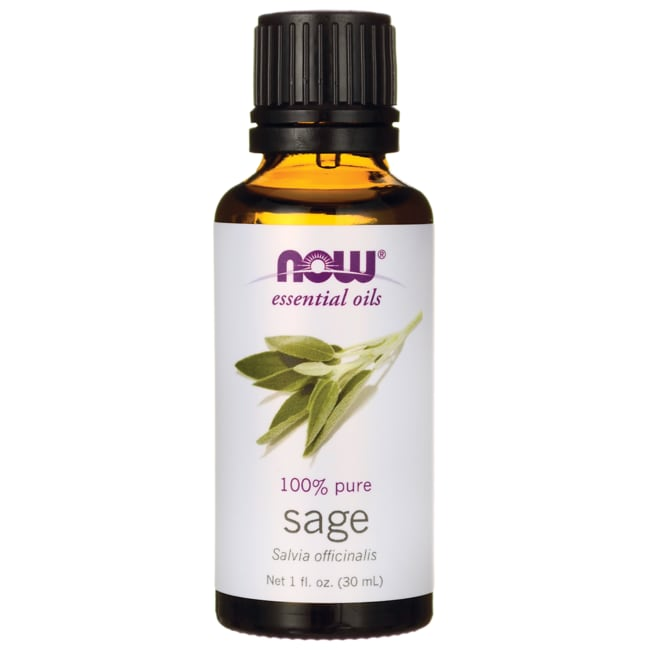 NOW Foods Sage Oil 1 Fl Oz (30 ML) Liquid