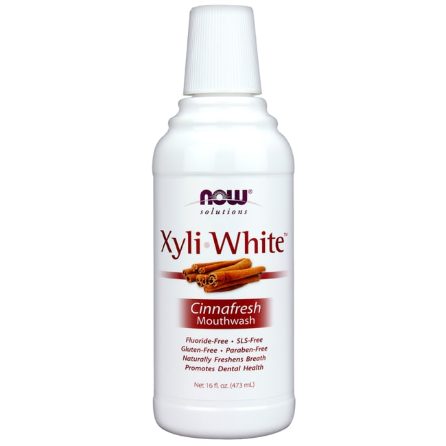 NOW FoodsXyli-White Mouthwash - Cinnafresh