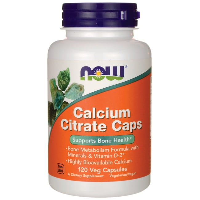 Calcium citrate products