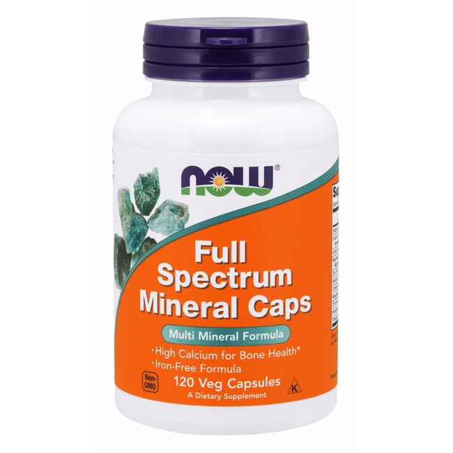 NOW Foods Full Spectrum Mineral Caps