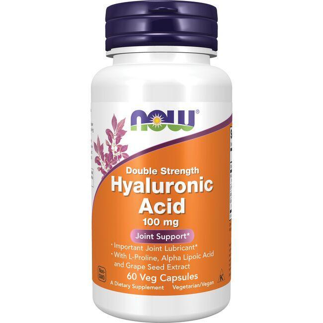 NOW FoodsDouble Strength Hyaluronic Acid