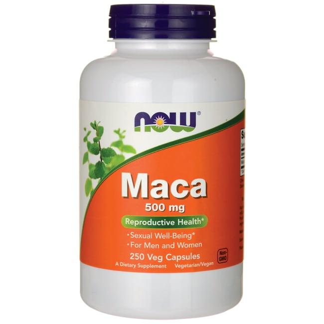 Now foods maca 500mg reviews