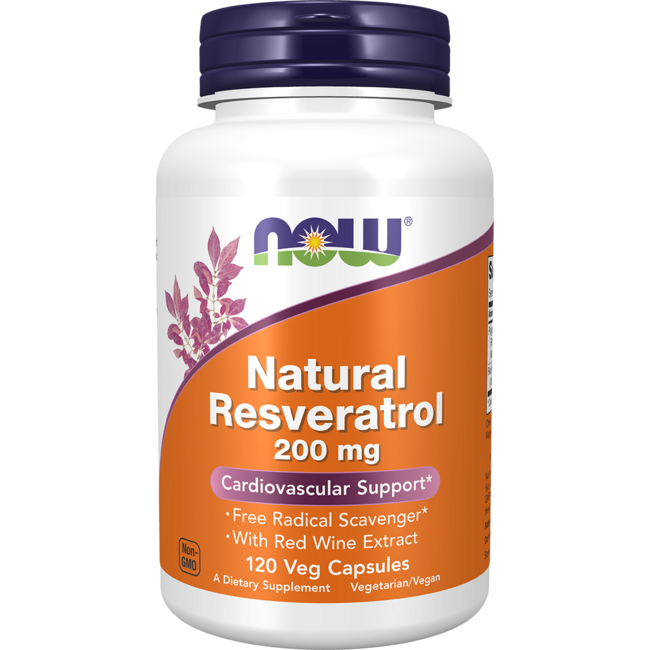 NOW FoodsNatural Resveratrol