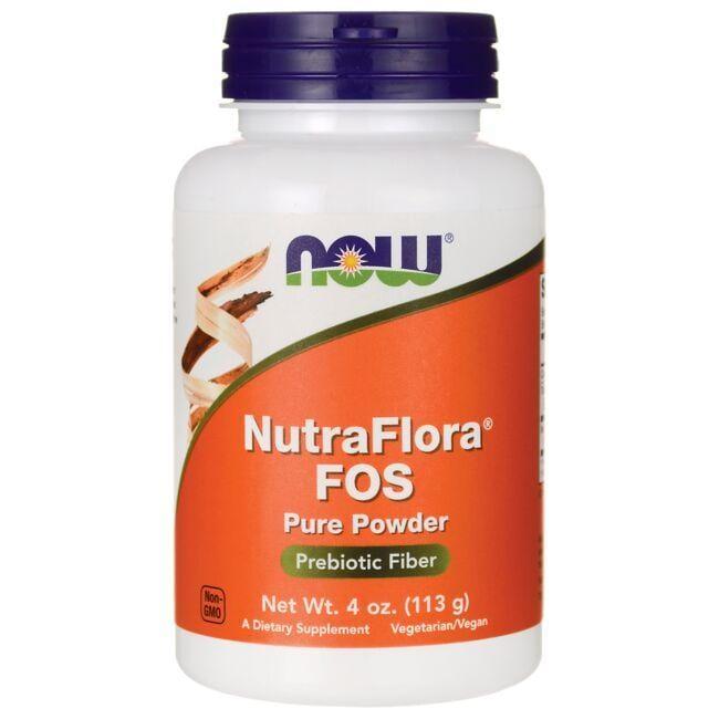 NOW FoodsNutraFlora FOS Pure Powder