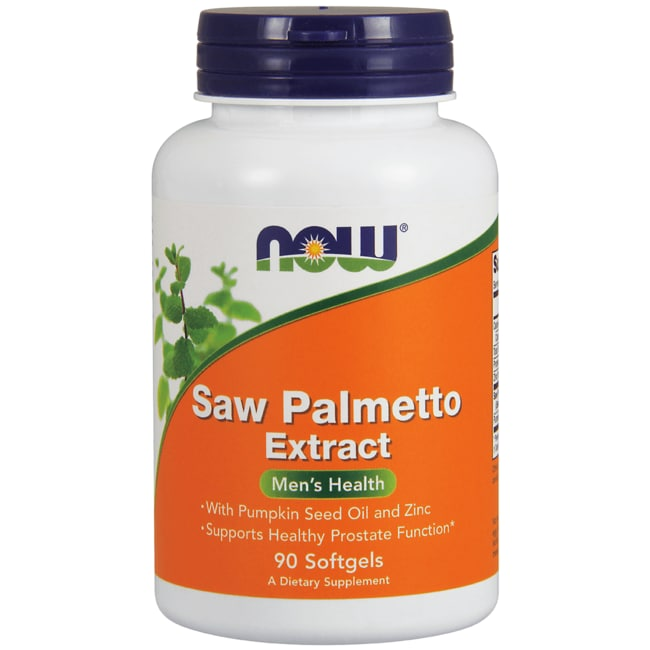 NOW FoodsSaw Palmetto Extract