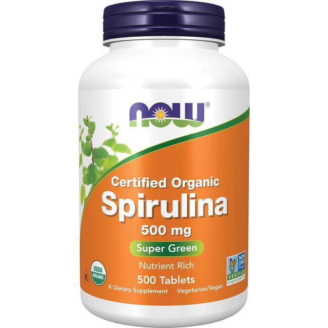 NOW FoodsCertified Organic Spirulina