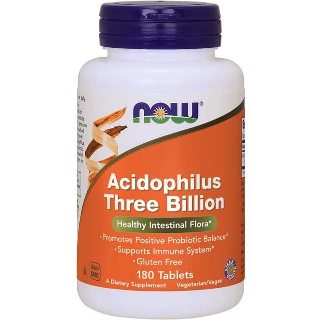 NOW FoodsStabilized Acidophilus Three Billion