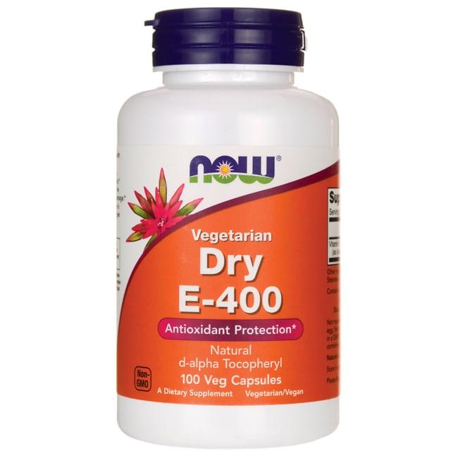 NOW Foods Dry E-400