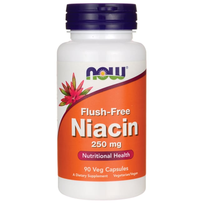 NOW Foods Niacin Flush-Free