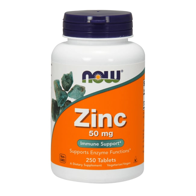 Now foods zinc 50 mg 250 tabs swanson health products for Cuisine zinc
