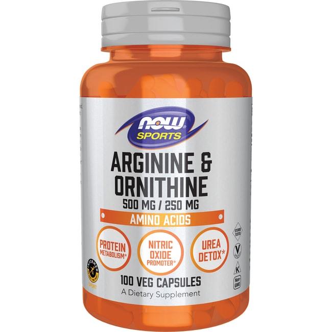 NOW Foods Arginine & Ornithine