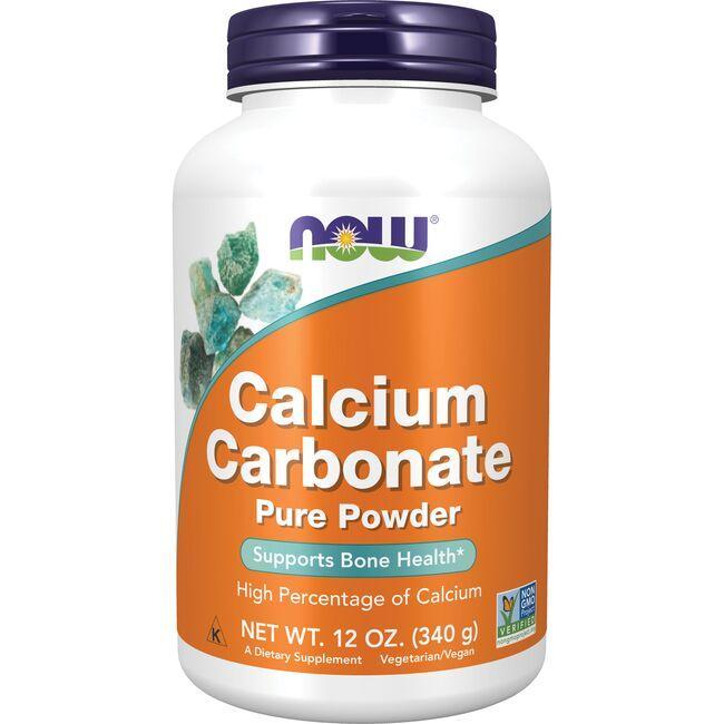 NOW FoodsCalcium Carbonate Pure Powder
