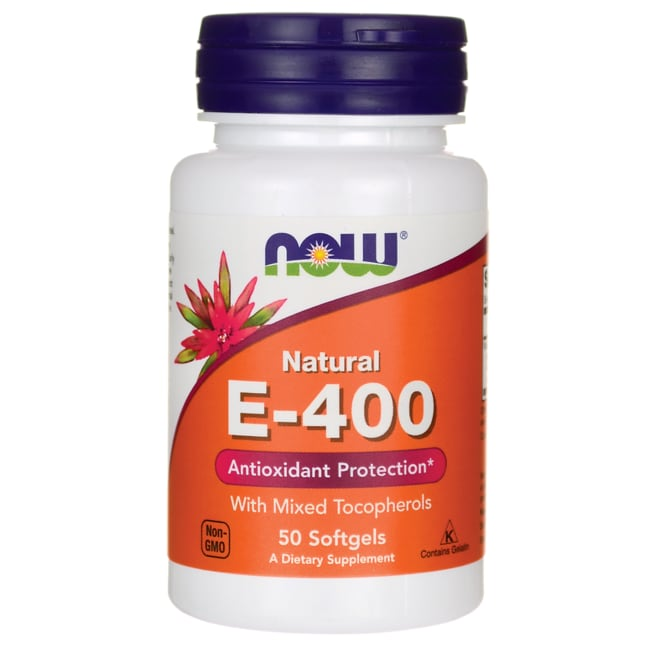 NOW Foods E-400 Mixed Tocopherols