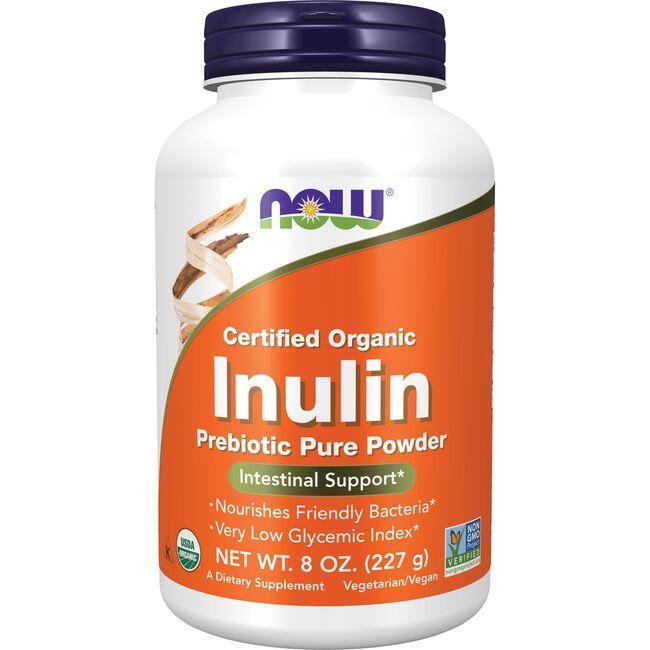 NOW FoodsCertified Organic Inulin