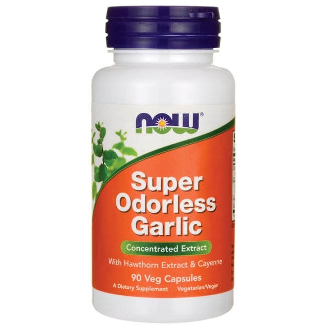 NOW FoodsSuper Odorless Garlic