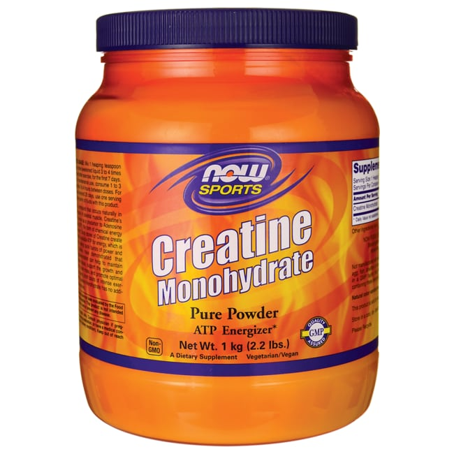 NOW Foods Creatine Monohydrate