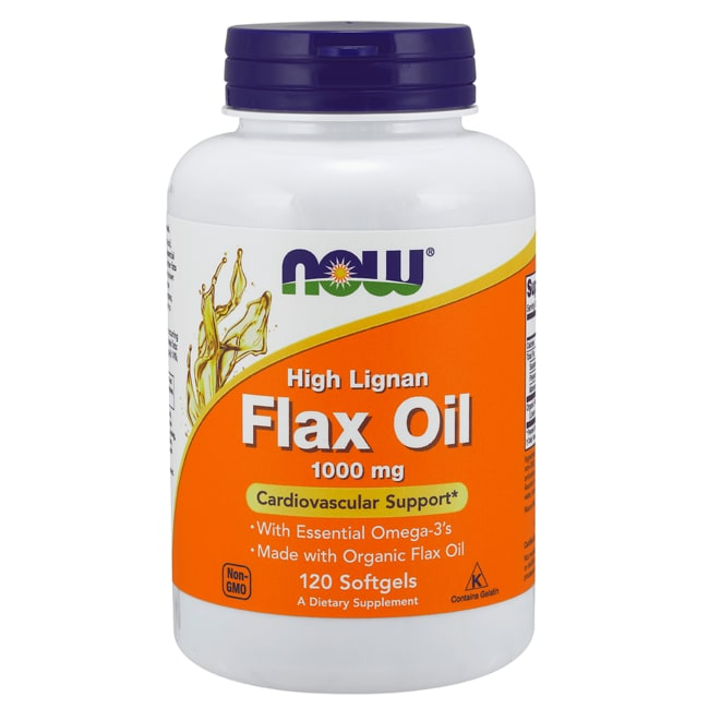 NOW FoodsHigh Lignan Flax Oil