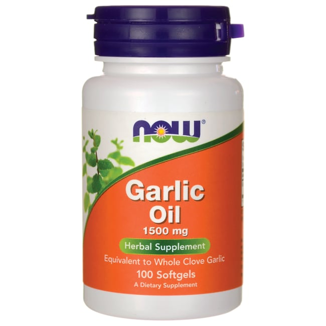 NOW FoodsGarlic Oil Triple Strength