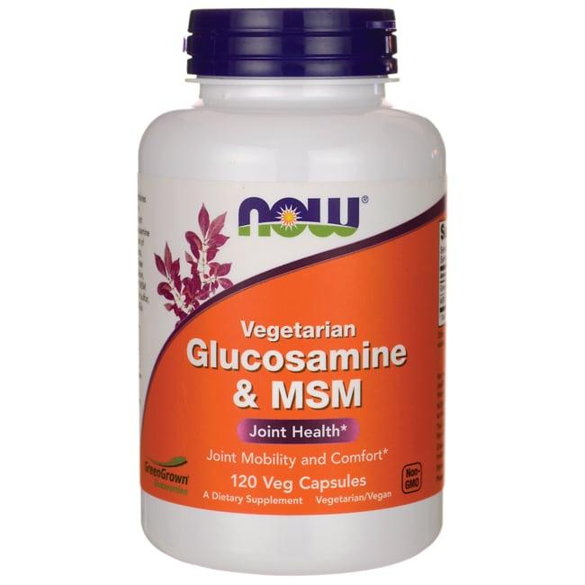 NOW FoodsVegetarian Glucosamine & MSM