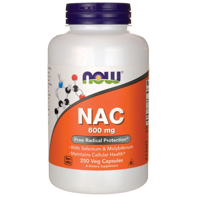 NOW FoodsNAC N-Acetyl Cysteine