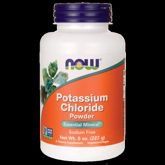 NOW Foods Potassium Chloride Powder