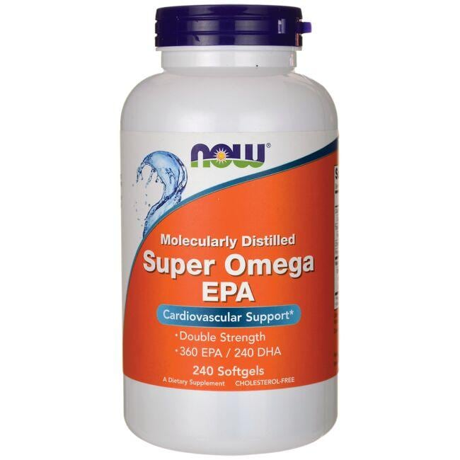 NOW FoodsMolecularly Distilled Super Omega EPA