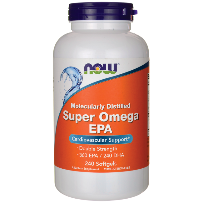 NOW FoodsSuper Omega EPA Double Strength